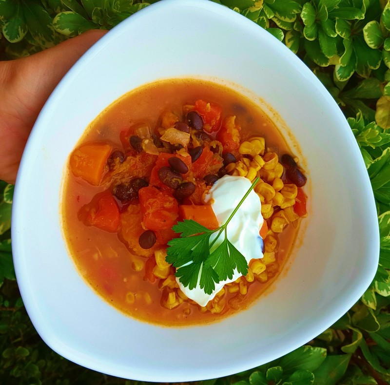 Autumn Veggie Chili
